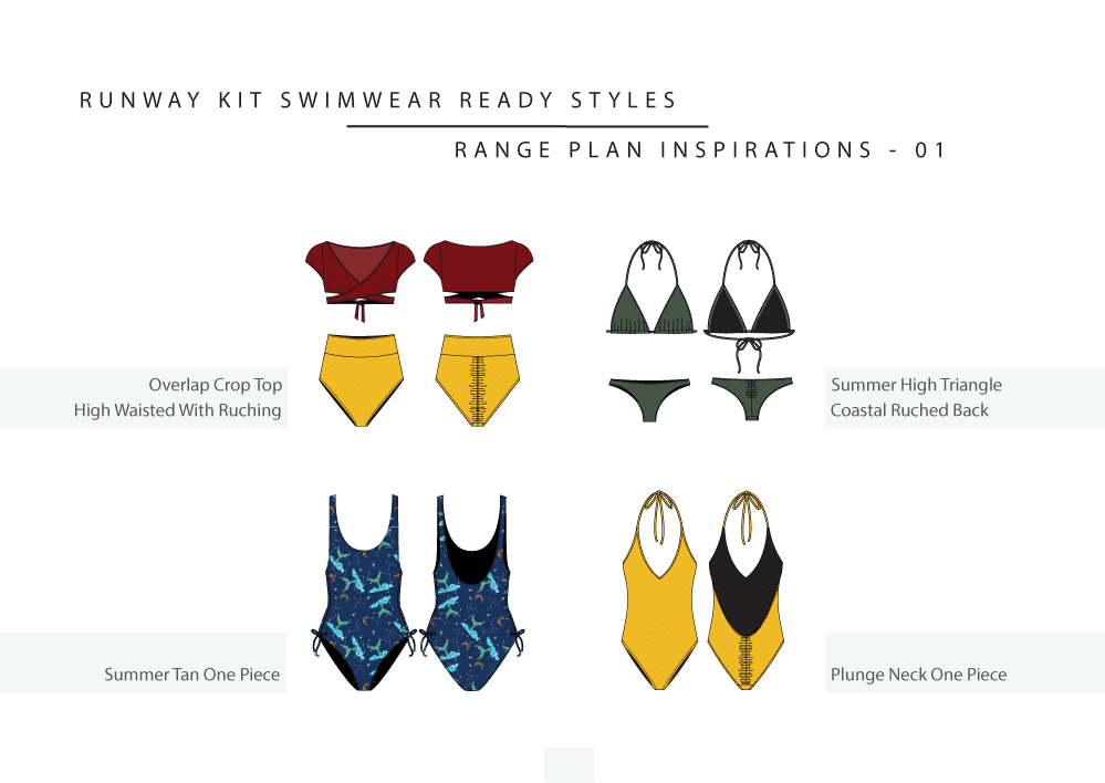 a swimwear range plan in detail part 1