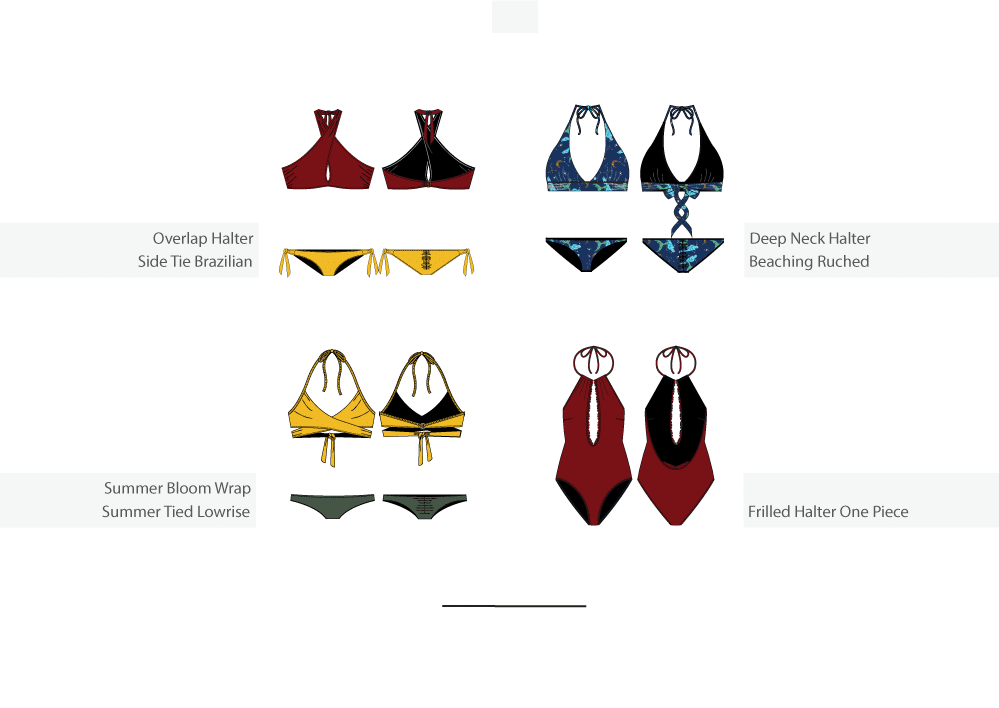 a swimwear range plan in detail part 2