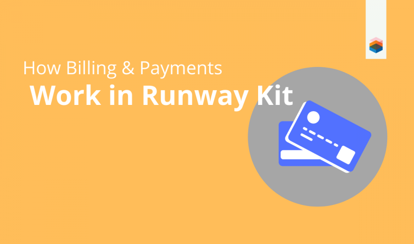 banner for billing and payments guide on runway kit